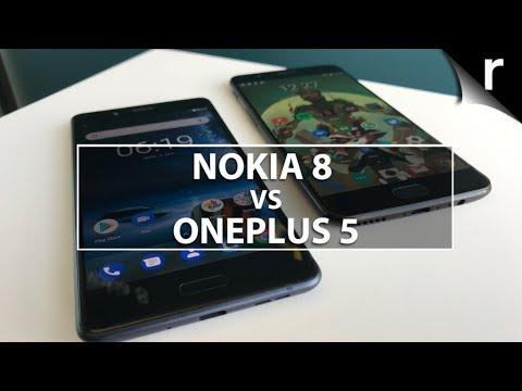 Nokia 8 vs OnePlus 5: Can Nokia