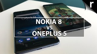 Nokia 8 vs OnePlus 5: Can Nokia's first Android flagship topple the OP5?