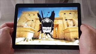 Huawei MediaPad T3 10 GamePlay: Asphalt Xtreme, World Of Tanks, Mario Run