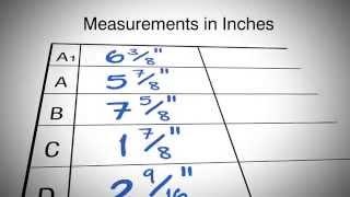 Recording Bio-Concepts Custom Garment Measurements