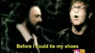 Live Like Horses-Elton John & Luciano Pavarotti ( English legend and Portuguese )