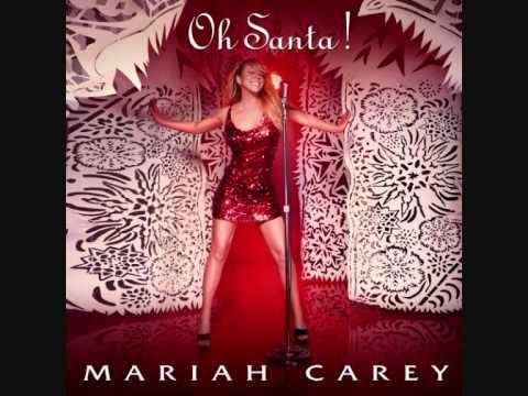 Mariah Carey - Oh Santa (lyrics on screen)