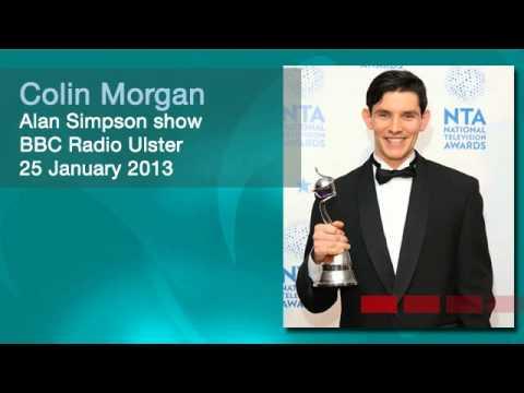 Colin Morgan on BBC Radio Ulster