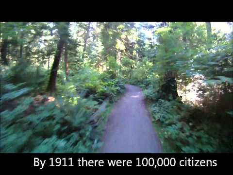 Vancouver Stanley Park - North Creek, Beaver Lake, South Creek Trails