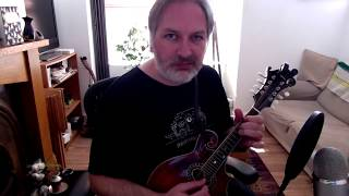 The Milky Way (reel) on mandolin