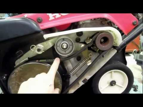 how to change a belt on a toro snowblower