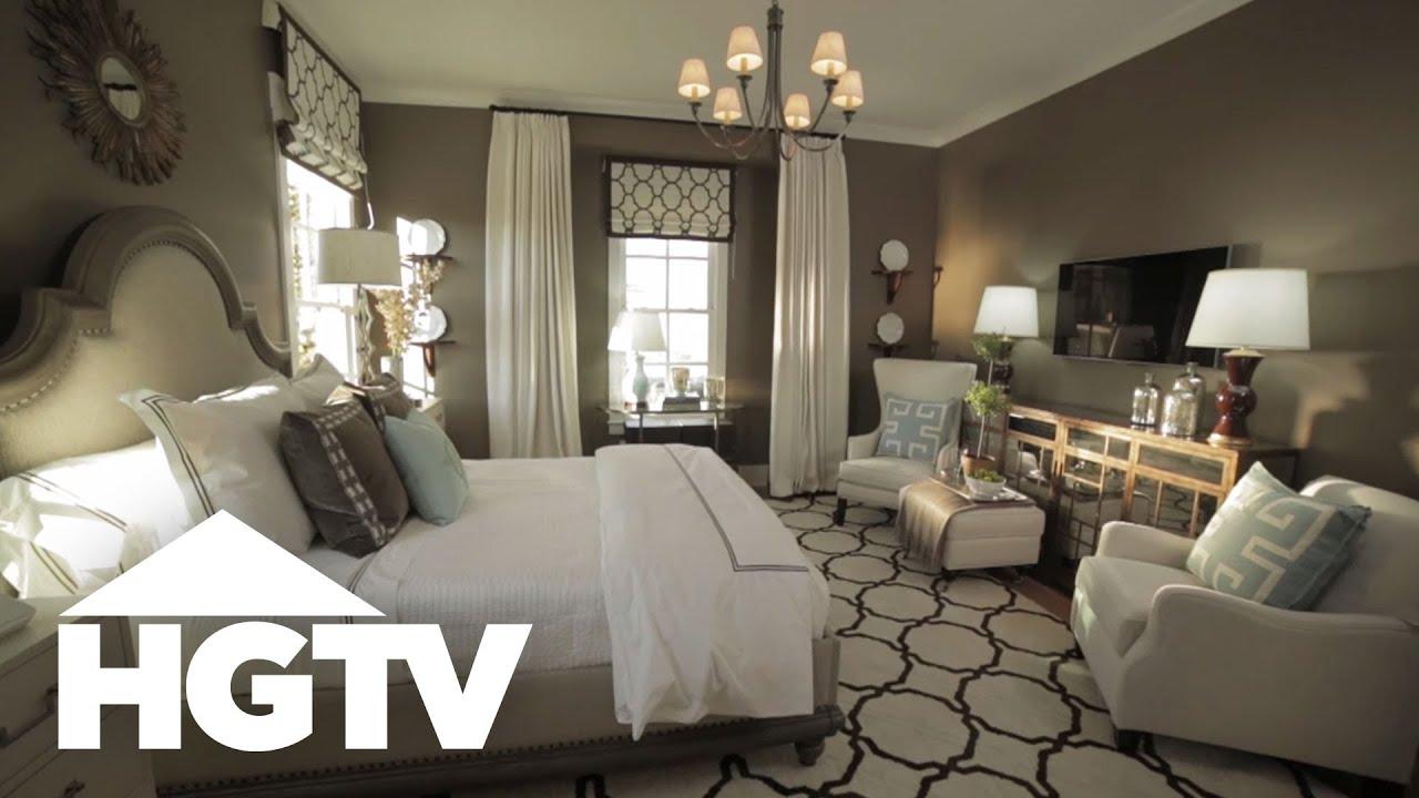 Glamorous Smart Master Bedroom