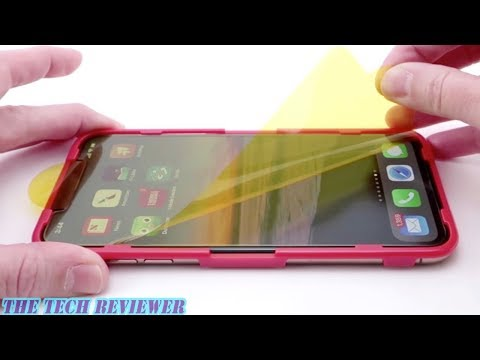 Zagg Glass+ Anti-Glare for iPhone Xs Max: Superior Sunlight Visibility & Fingerprint Resistance!