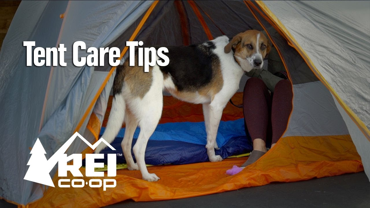 & Tent Care Tips - YouTube