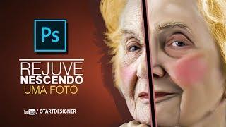 Baixar Photoshop Rejuvenescendo uma Foto - (Otavio Art Designer)