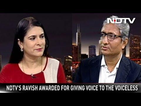 Ravish Kumar On What The Magsaysay Award Means To Him