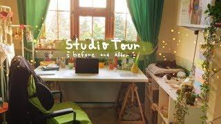 Art Studio Tour ✨ | Ikea haul + before & after
