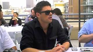 Karl Urban talks about the process of becoming Judge Dredd