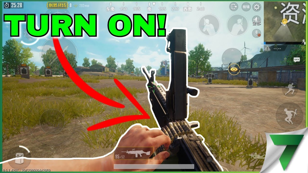 TURN ON FIRST PERSON IN PUBG MOBILE! | PUBG MOBILE CHINESE VERSION