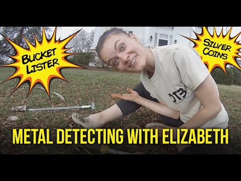 Metal Detecting Old Silver Coins & Relics with Elizabeth!!!
