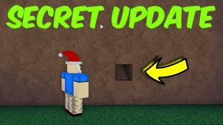 Secret Update! Hole In The Wall! Roblox Lumber Tycoon 2