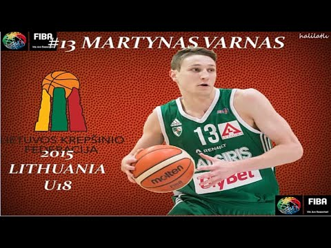 Download Martynas Varnas 2015 Lithuainia UM18 European Championship
