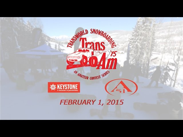 Transworld's Trans Am Returns to Keystone Feb. 1, 2015
