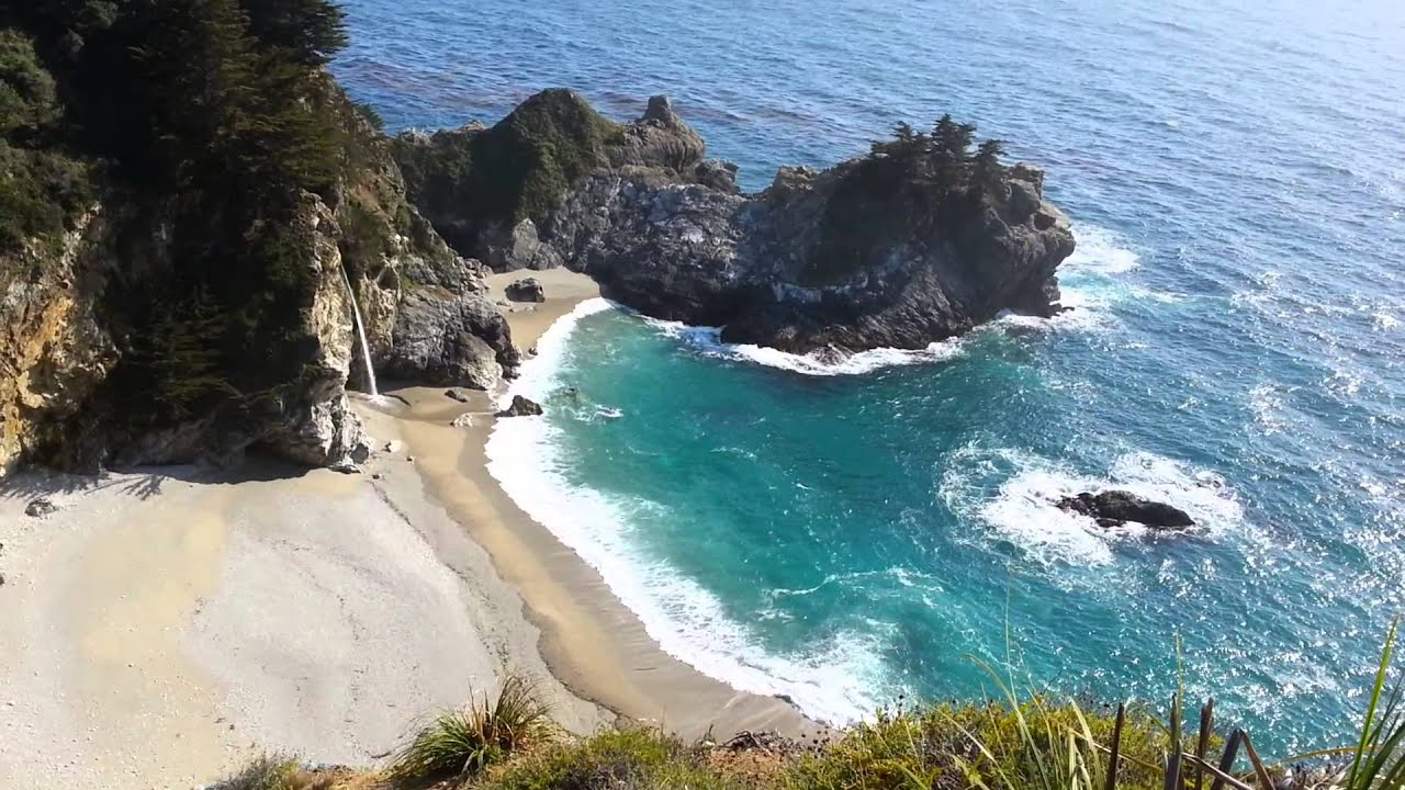 Julia Pfeiffer Waterfall Beach Sur Ca
