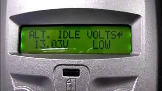 Pracovní postup a vlastní měření bez-zátěžovou zkoušečkou akumulátorů DHC BT 501