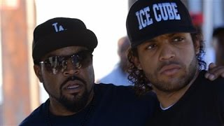 Ice Cube and Son on 'Straight Outta Compton'