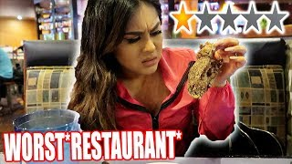 Going To The Worst Reviewed *RESTAURANT* In My City! *1 STAR*