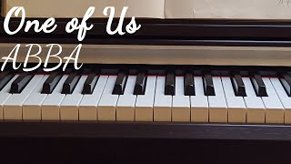 ABBA - One of Us   Piano & String Cover