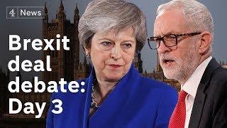 PMQs + Brexit deal debate LIVE: Day 3