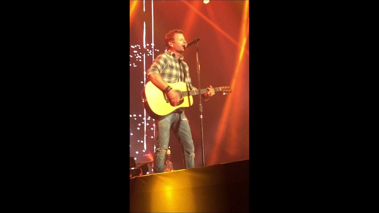 "Front Row, Dierks Bentley, ""Every Mile A Memory"