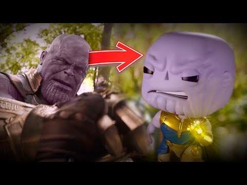 Avengers Infinity War como Funko Pop