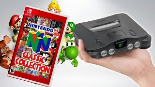 Did Nintendo Just ACCIDENTALLY REVEAL The N64 Classic!?