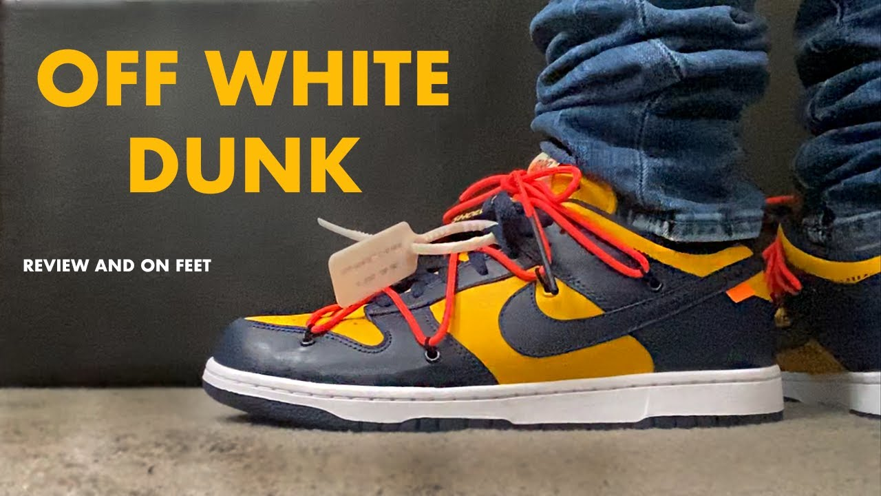 nike off white dunk