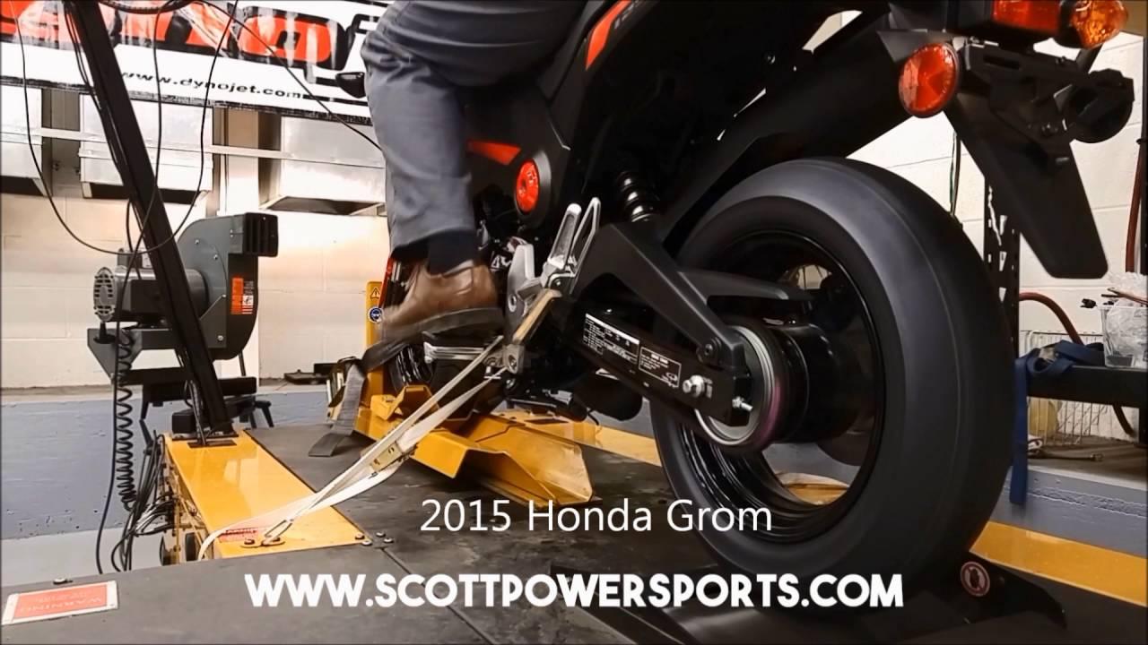Dyno Shootout - Honda Grom vs Kawasaki Z125