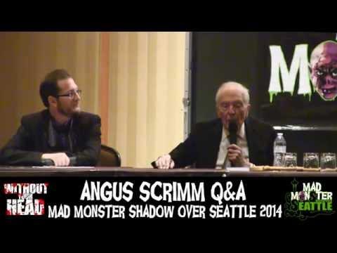 Angus Scrimm The Tall Man of Phantasm Q&A Panel