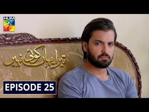 Tera Yahan Koi Nahin Episode 25 HUM TV Drama 24 March 2020