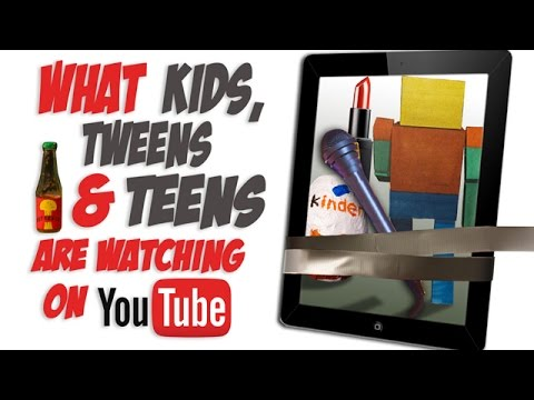 Popular youtube channels for tweens