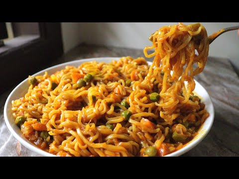 veg maggie recipe street style vegetable Maggie recipe