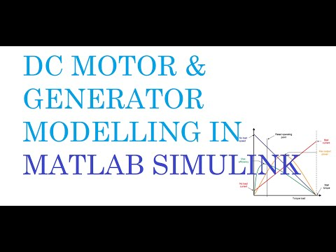 Learn How To Dc Generator Motor In Matlab Simulink