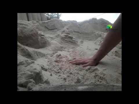 Строительство фундаментов на речном песке