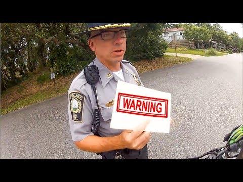 BIKER CARRYING GUN GETS PULLED OVER | POLICE vs MOTO  |  [Episode 73]