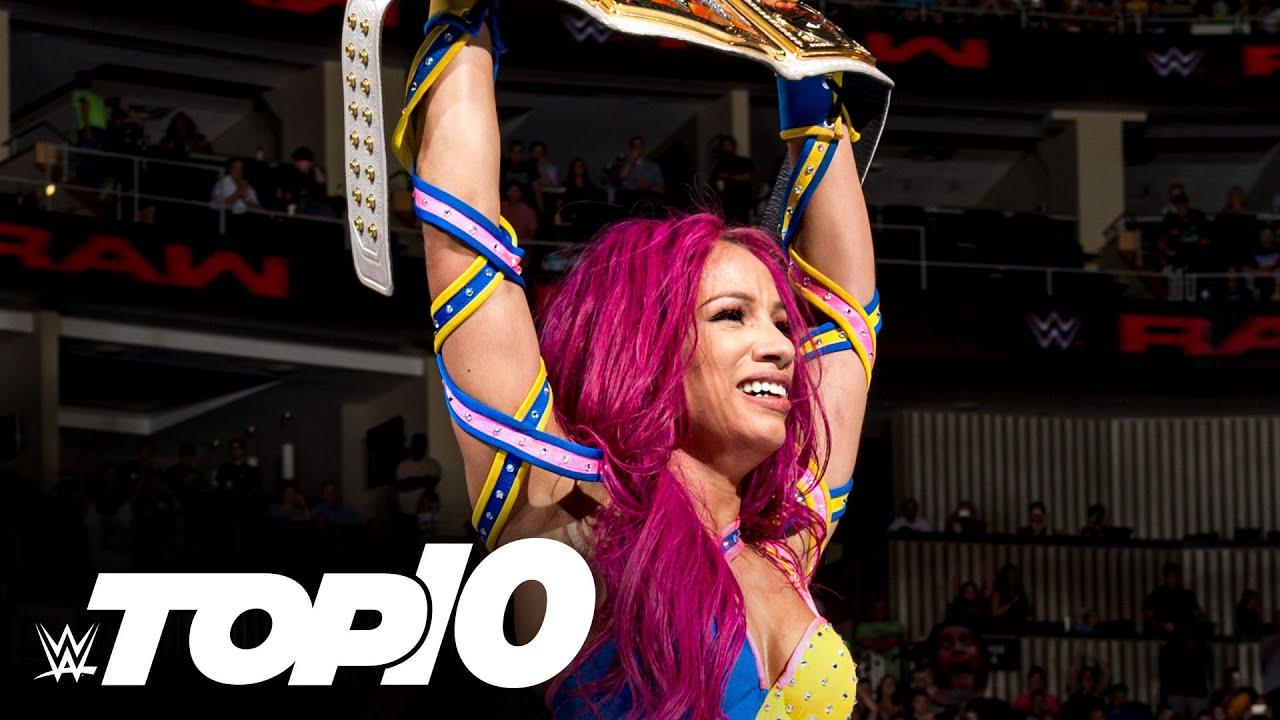 Sasha Banks' greatest wins: WWE Top 10, Aug. 2, 2020