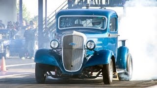 1936 Chevy Pickup running 8