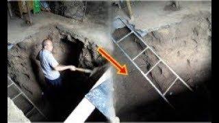Trước khi vợ ra đi mới tiết lộ có kho báu chôn dưới nền nhà, ông đào tung cả phòng  lên mới sững sờ