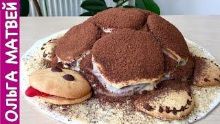 Торт Черепаха Простой Рецепт | Turtle Cake, English Subtitles