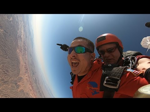 SILVESTRE MARTINEZ - Tandem Skydive in Las Vegas at Skydive Fyrosity®
