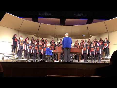 Sabin Middle School - 8th Grade Choir - first song