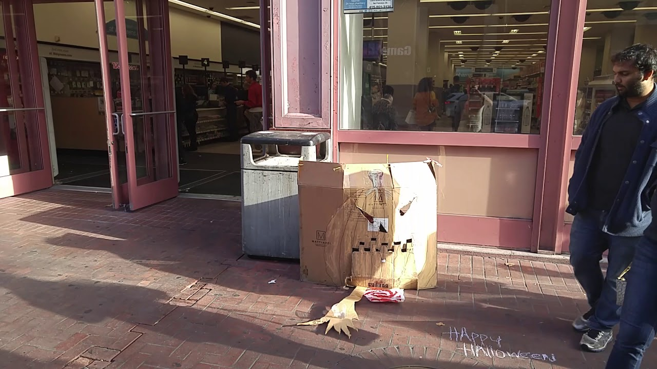 the san francisco halloween spirit - youtube