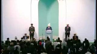 Friday Sermon : 15th December 2010 - Part 1 (Urdu)