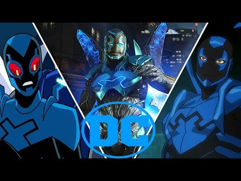 Blue Beetle  Evolution in Movies,Cartoons and Games (2018) Titans DC Universe