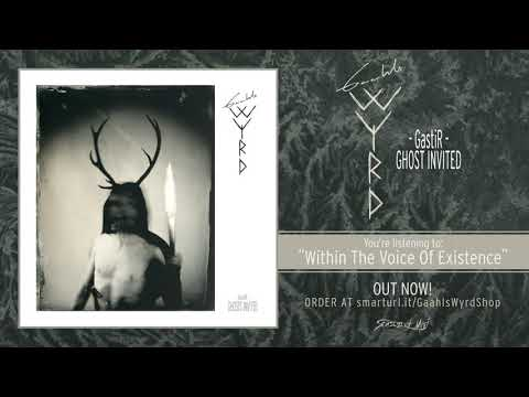 Gaahls WYRD - Within The Voice Of Existence (Official Track)